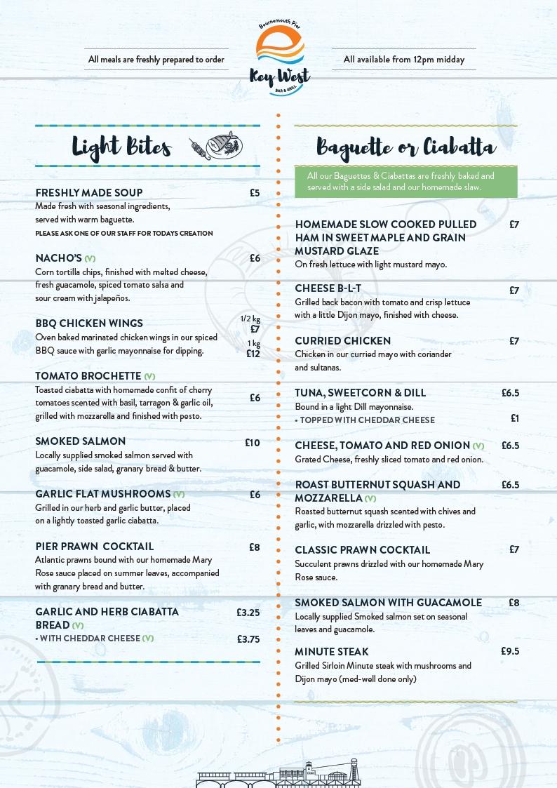 Key West restaurant Light Bites