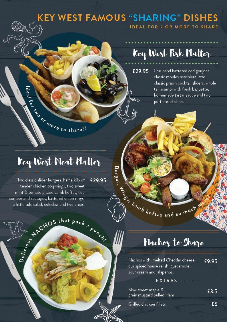 Key West Platters menu