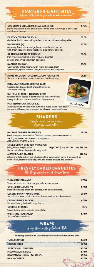 Main menu page 2