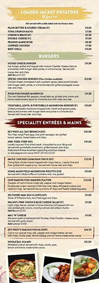 Main menu page 3