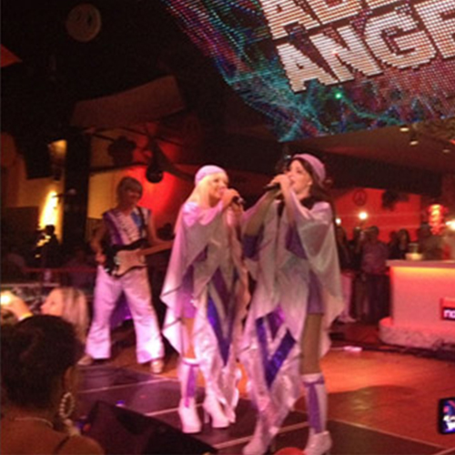 Abba's Angels Performing on Stage