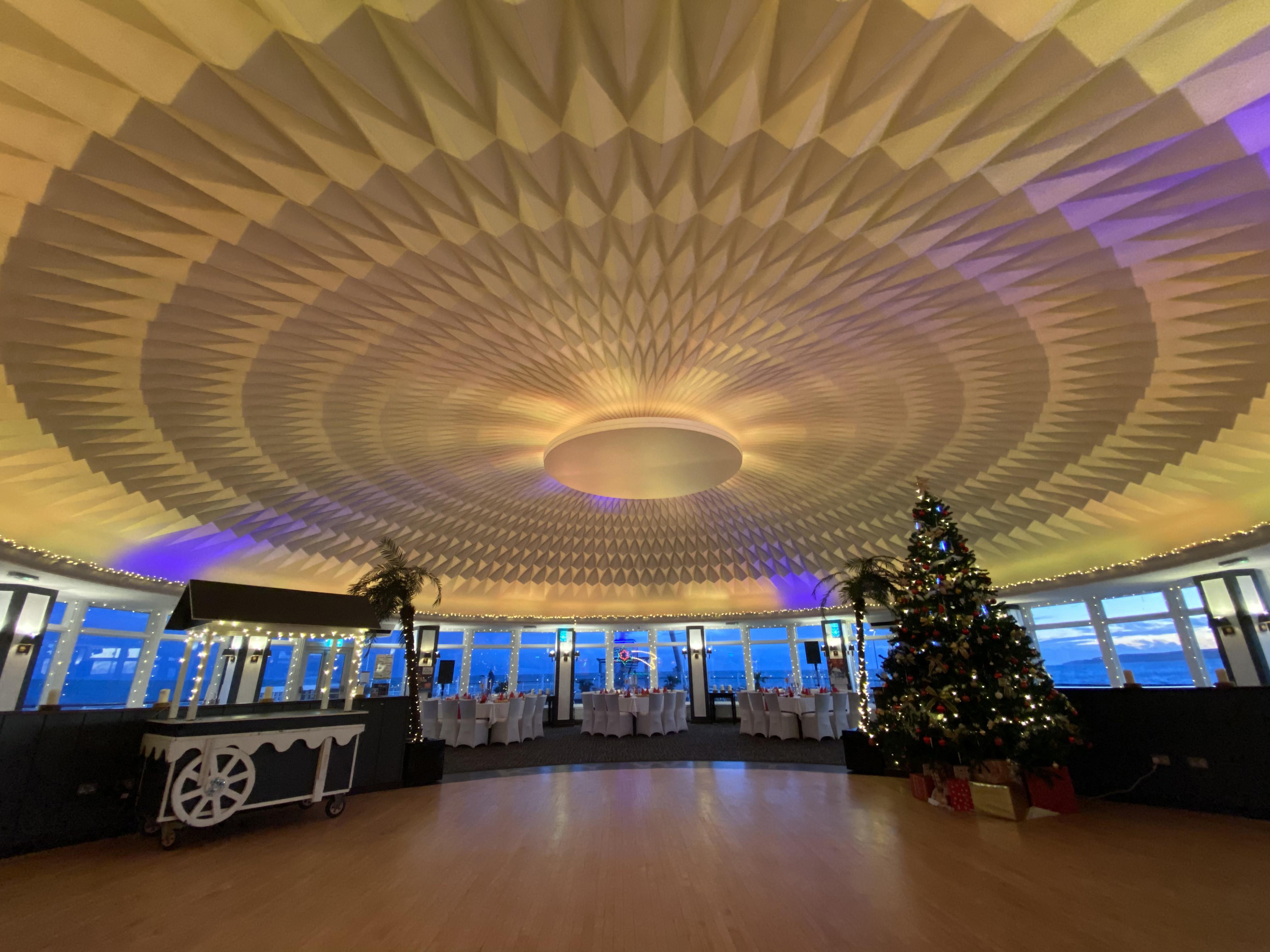 Key West Dance Floor & Lighted Ceiling