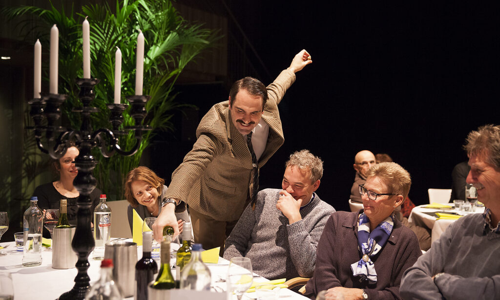 Faulty Towers Basil Serving