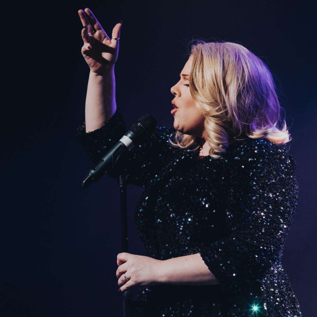 Adele Tribute Singing