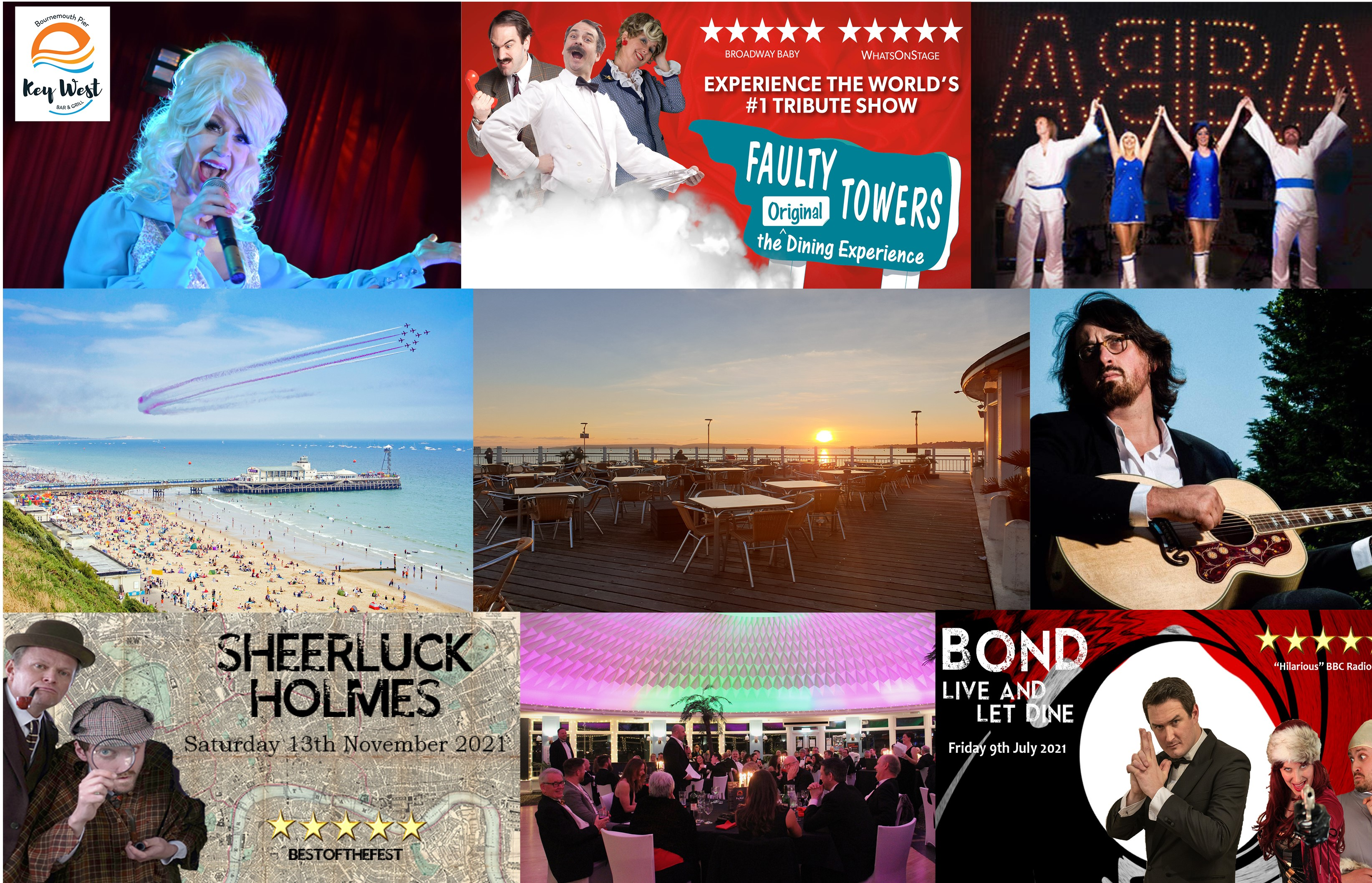 Packed Calendar of Live Music and events